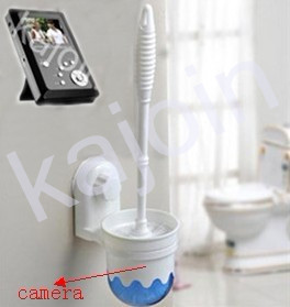 kajoin Wireless Toilet Brush bathroom spy Camera